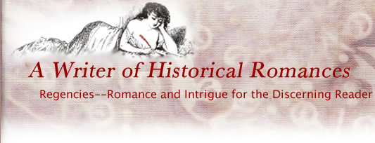 A Writer of Historical Romances